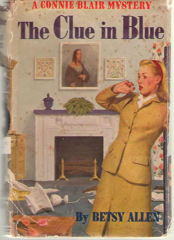 Image for The Clue In Blue A Connie Blair Mystery