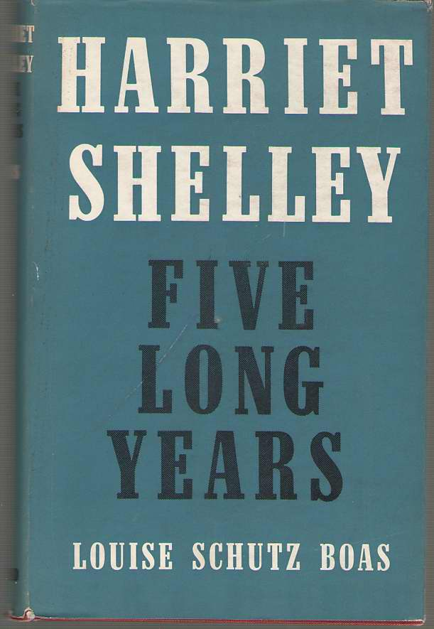 Image for Harriet Shelley Five Long Years