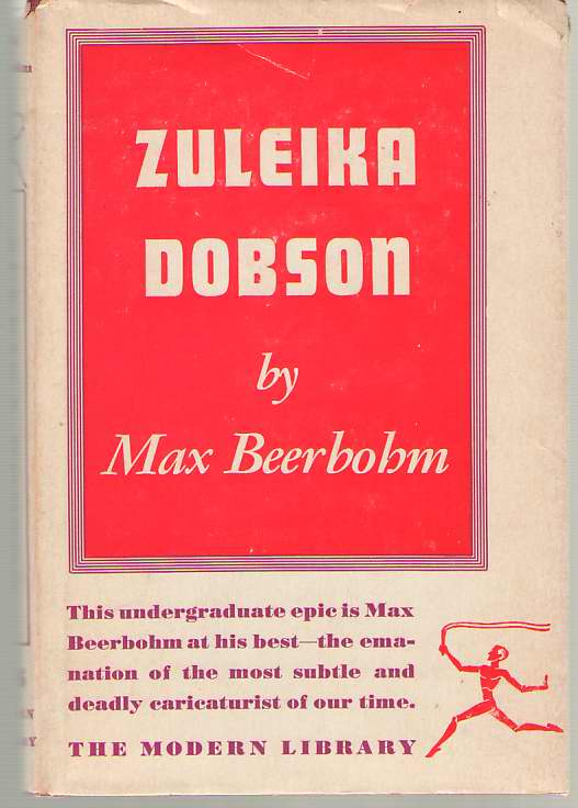 Image for Zuleika Dobson