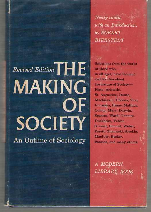 Image for The Making Of Society An Outline of Sociology