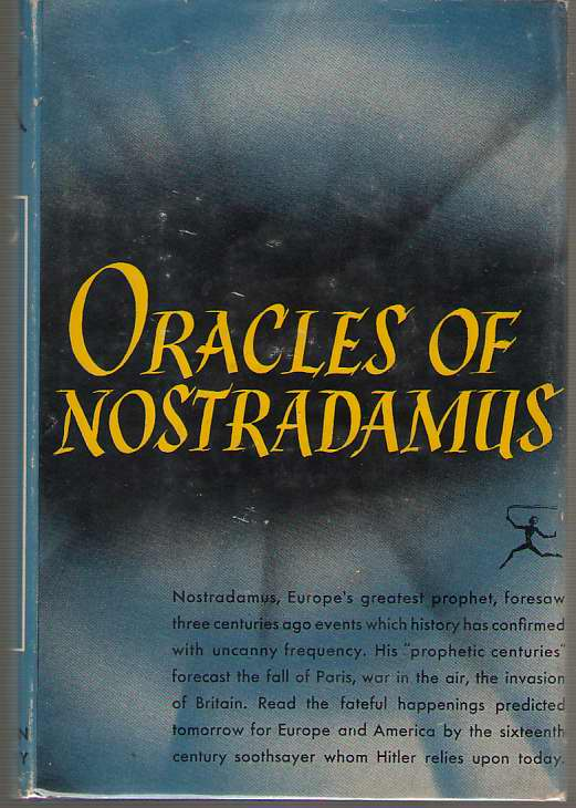 Image for Oracles of Nostradamus