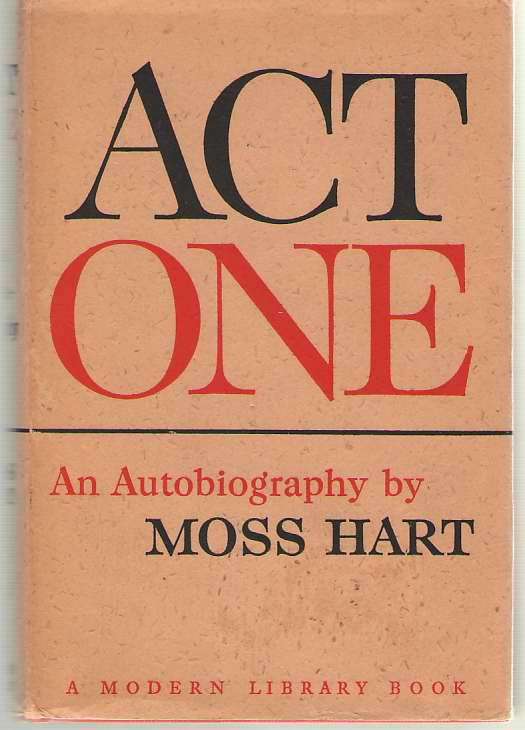 Image for Act One  An Autobiography