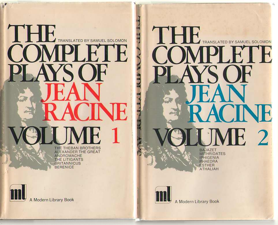 Image for The Complete Plays of Jean Racine