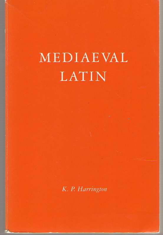 Image for Medieval Latin