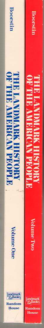 Image for The Landmark History of the American People Two Volume Set, Newly Revised and Updated
