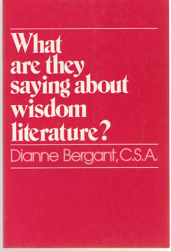 Image for What Are They Saying about Wisdom Literature?