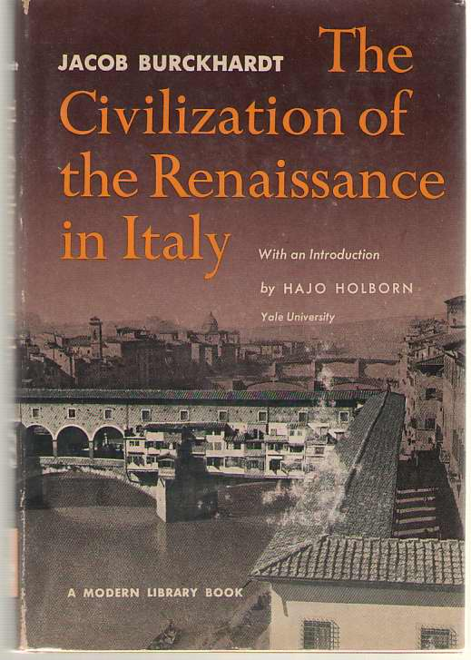 Image for The Civilization Of The Renaissance Of Italy