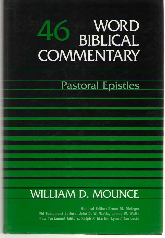 Image for Pastoral Epistles
