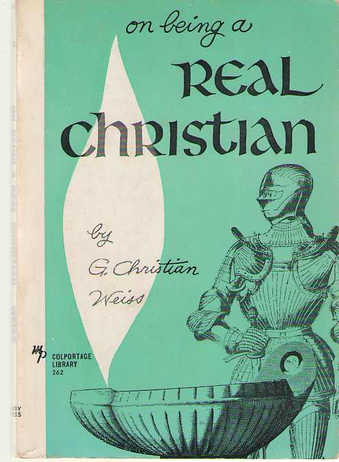 Image for On Being A Real Christian