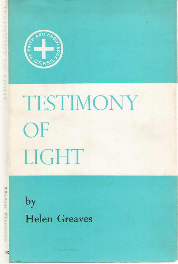 Image for Testimony Of Light
