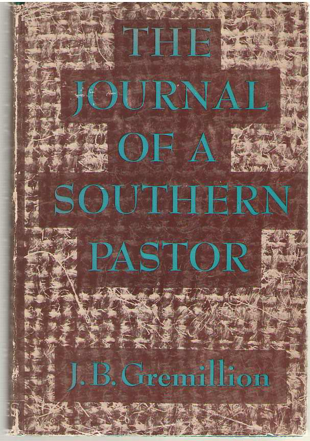 Image for The Journal Of A Southern Pastor