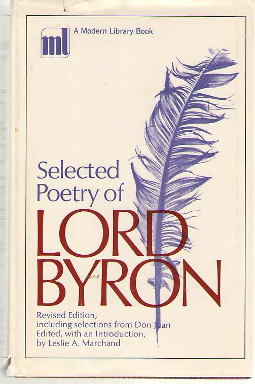 Image for Selected Poetry Of Lord Byron
