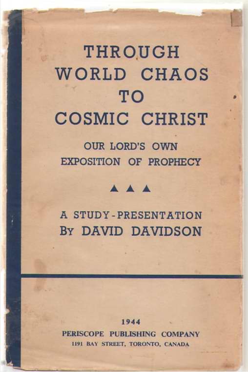 Image for Through World Chaos to Cosmic Christ