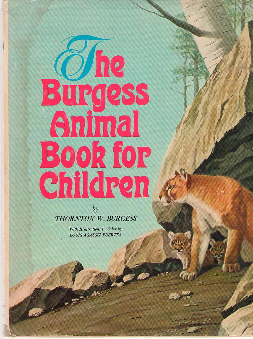 Image for The Burgess Animal Book For Children