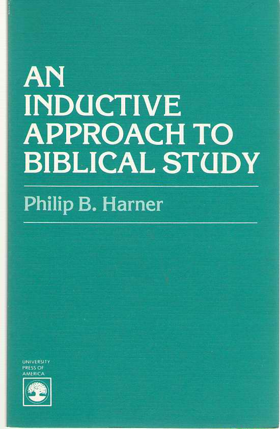 Image for An Inductive Approach to Biblical Study