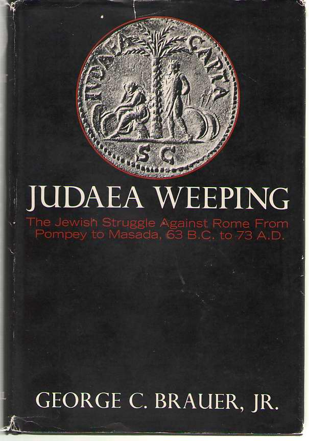 Image for Judaea Weeping The Jewish Struggle Against Rome from Pompey to Masada, 63 B. C. to A. D. 73