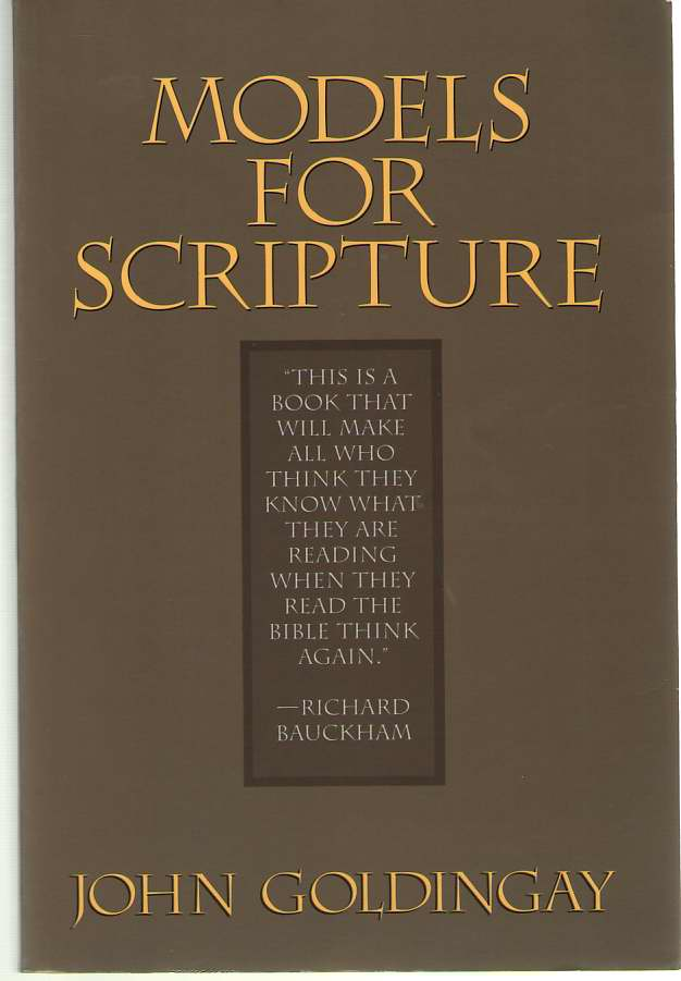Image for Models for Scripture