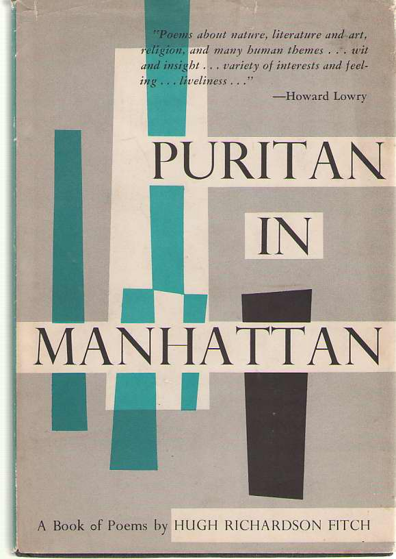 Image for Puritan in Manhattan Selected Poems