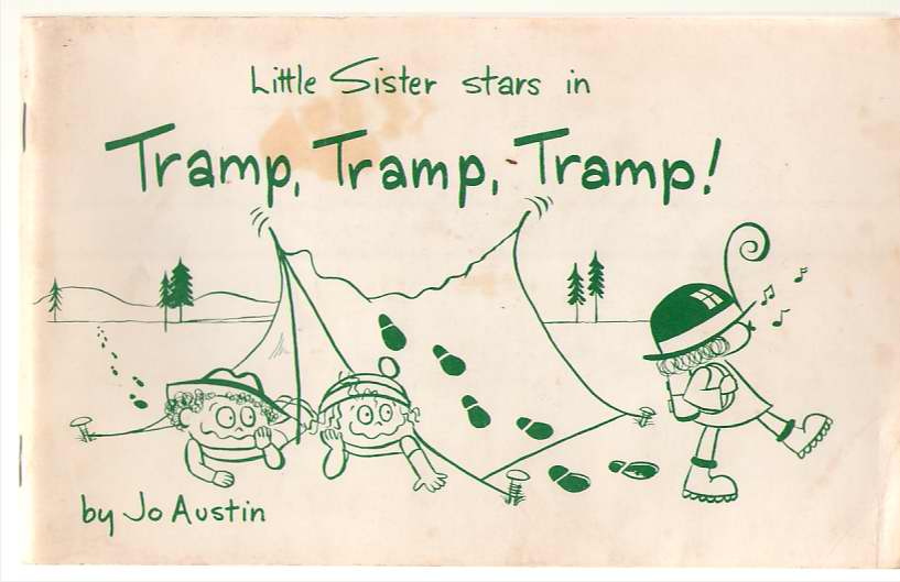 Image for Little Sister Stars In Tramp Tramp Tramp