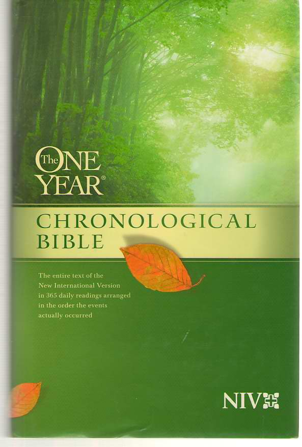 Image for The One Year Chronological Bible Niv