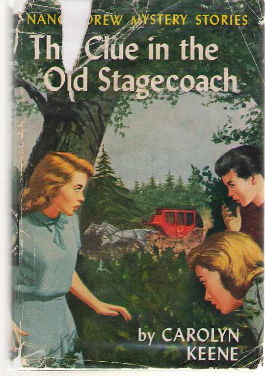 Image for The Clue In The Old Stagecoach