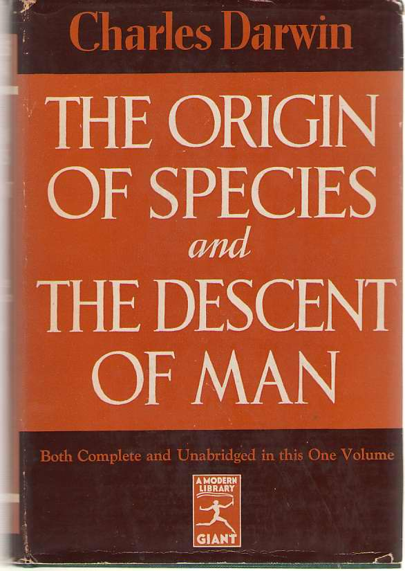 Image for Origin of Species and the Descent of Man
