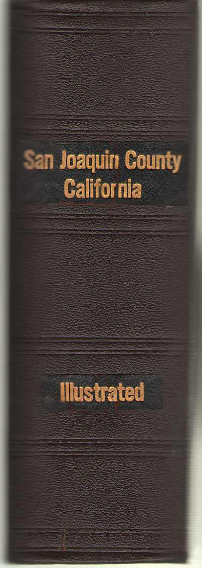 Image for History of San Joaquin County California with Biographical Sketches
