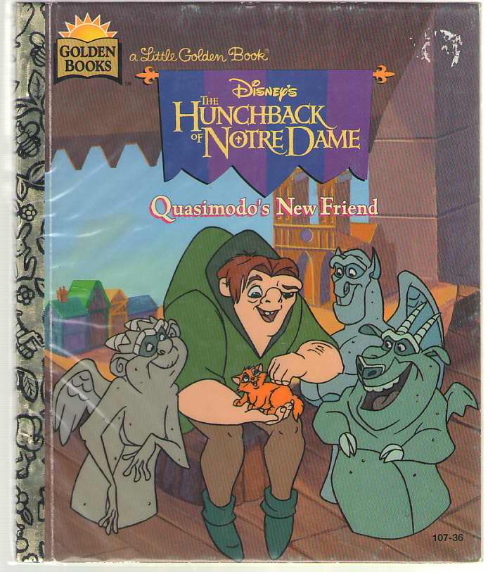 Image for Disney's the Hunchback of Notre Dame Quasimodo's New Friend