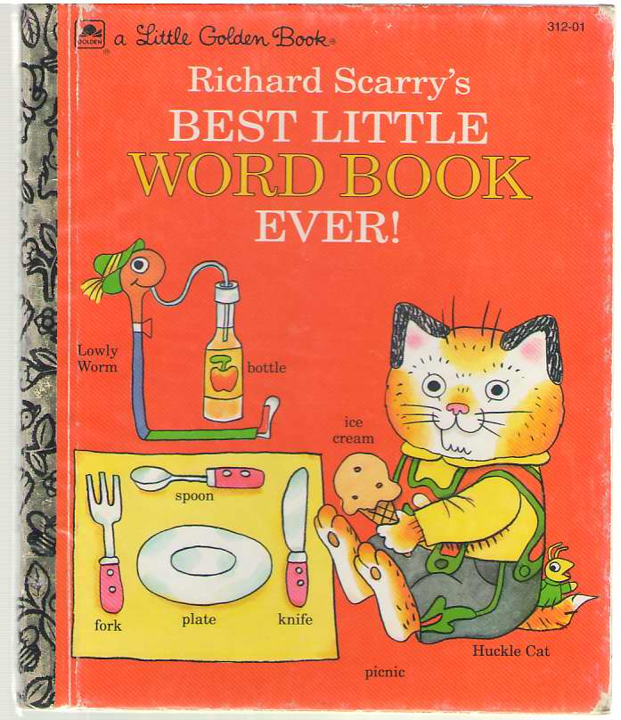 Image for Richard Scarry's Best Little Word Book Ever
