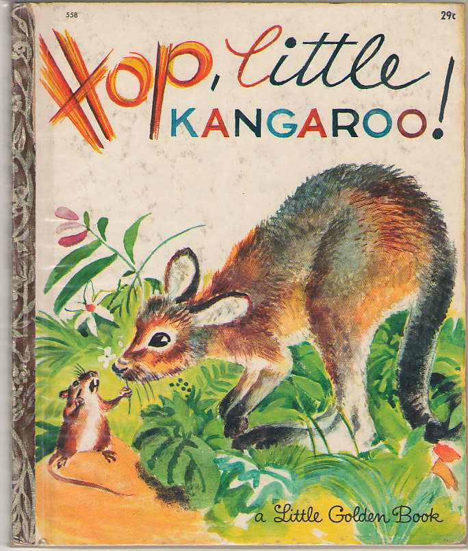 Image for Hop, Little Kangaroo!