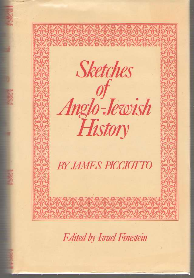 Image for Sketches Of Anglo - Jewish History