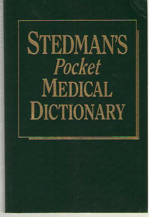 Image for Stedman's Pocket Medical Dictionary