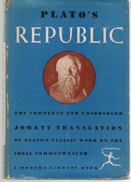 Image for Plato's The Republic The Jowett Translation