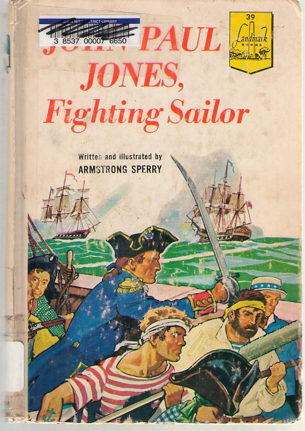 Image for John Paul Jones Fighting Sailor