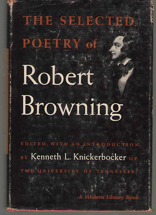 Image for The Selected Poetry Of Robert Browning
