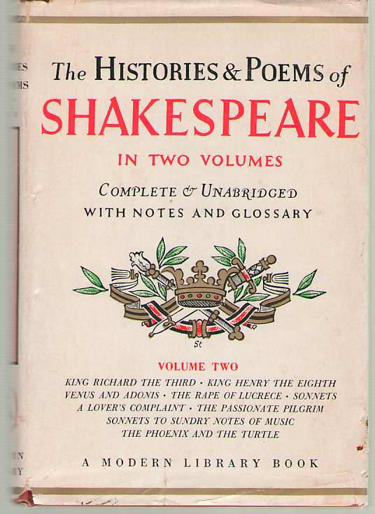 Image for The Histories & Poems of Shakespeare, Vol. 2
