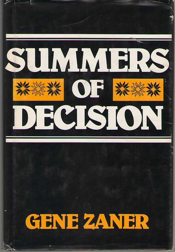 Image for Summers Of Decision