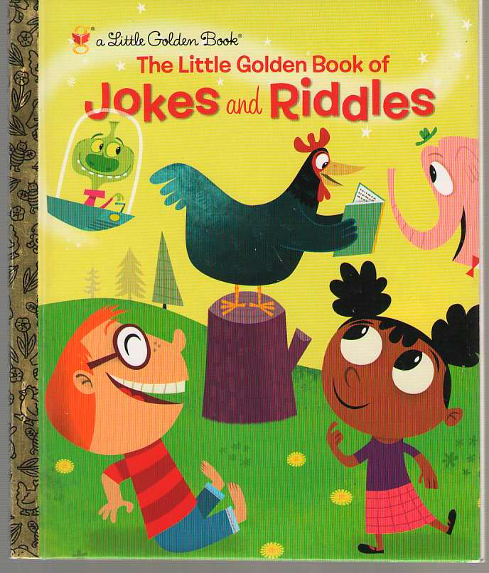Image for The Little Golden Book of Jokes and Riddles