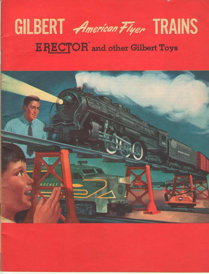 Image for Gilbert American Flyer Trains Erector and Other Gilbert Toys 1954 Catalog