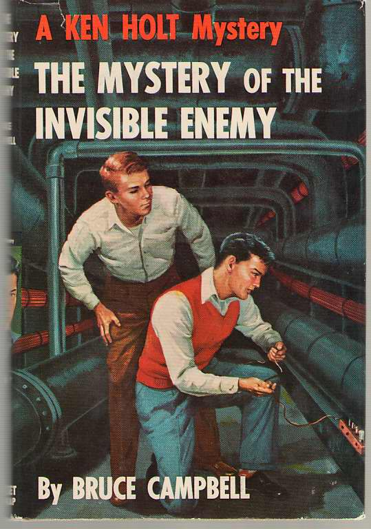 Image for The Mystery Of The Invisible Enemy