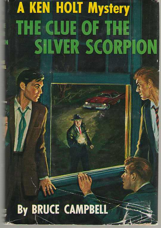 Image for The Clue Of The Silver Scorpion