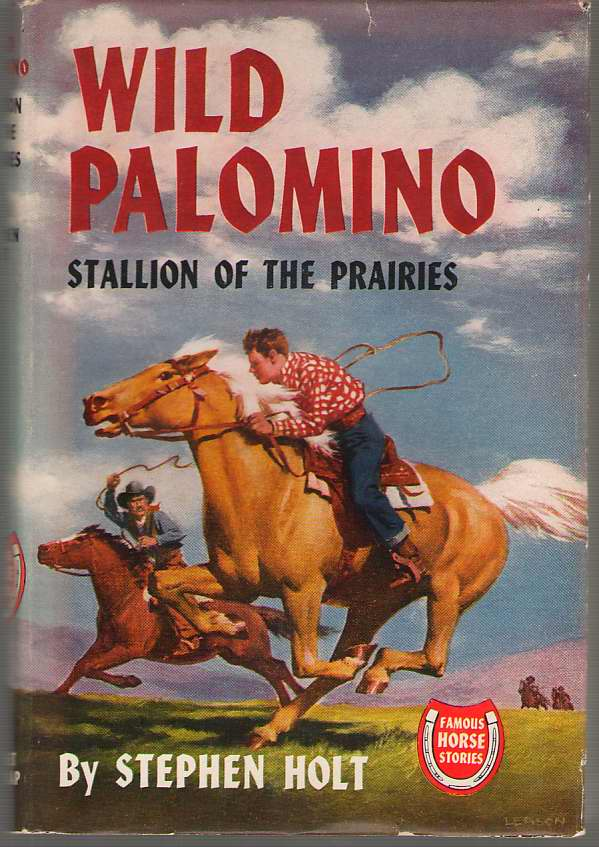 Image for Wild Palomino Stallion of the Prairies