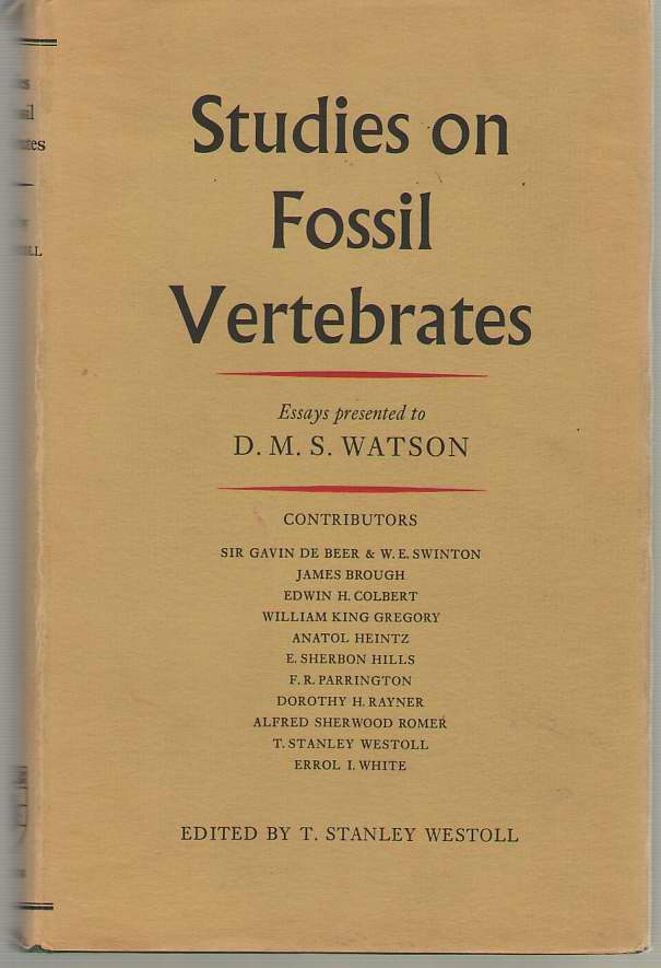 Image for Studies On Fossil Vertebrates Essays Presented to David Meredith Sears Watson