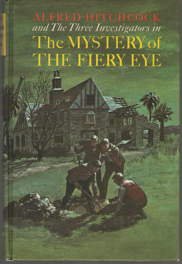 Image for The Mystery Of The Fiery Eye