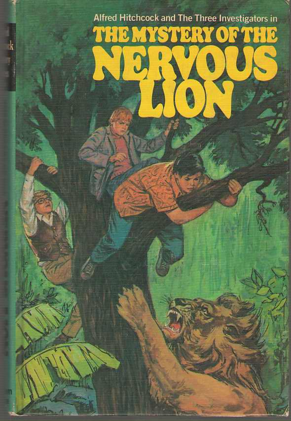 Image for The Mystery Of The Nervous Lion