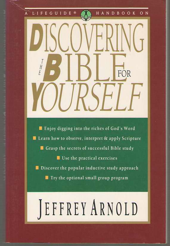 Image for Discovering the Bible for Yourself