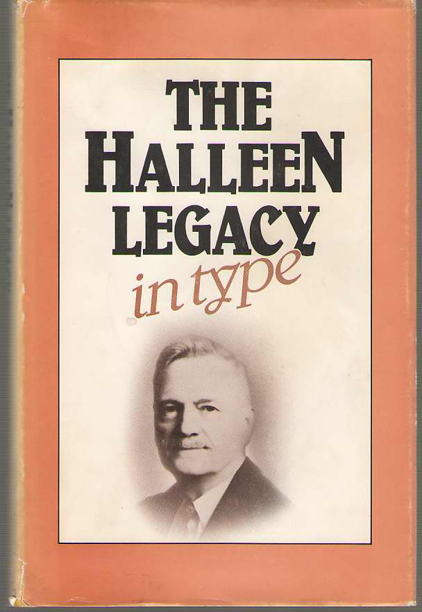 Image for The Halleen Legacy (in Type)