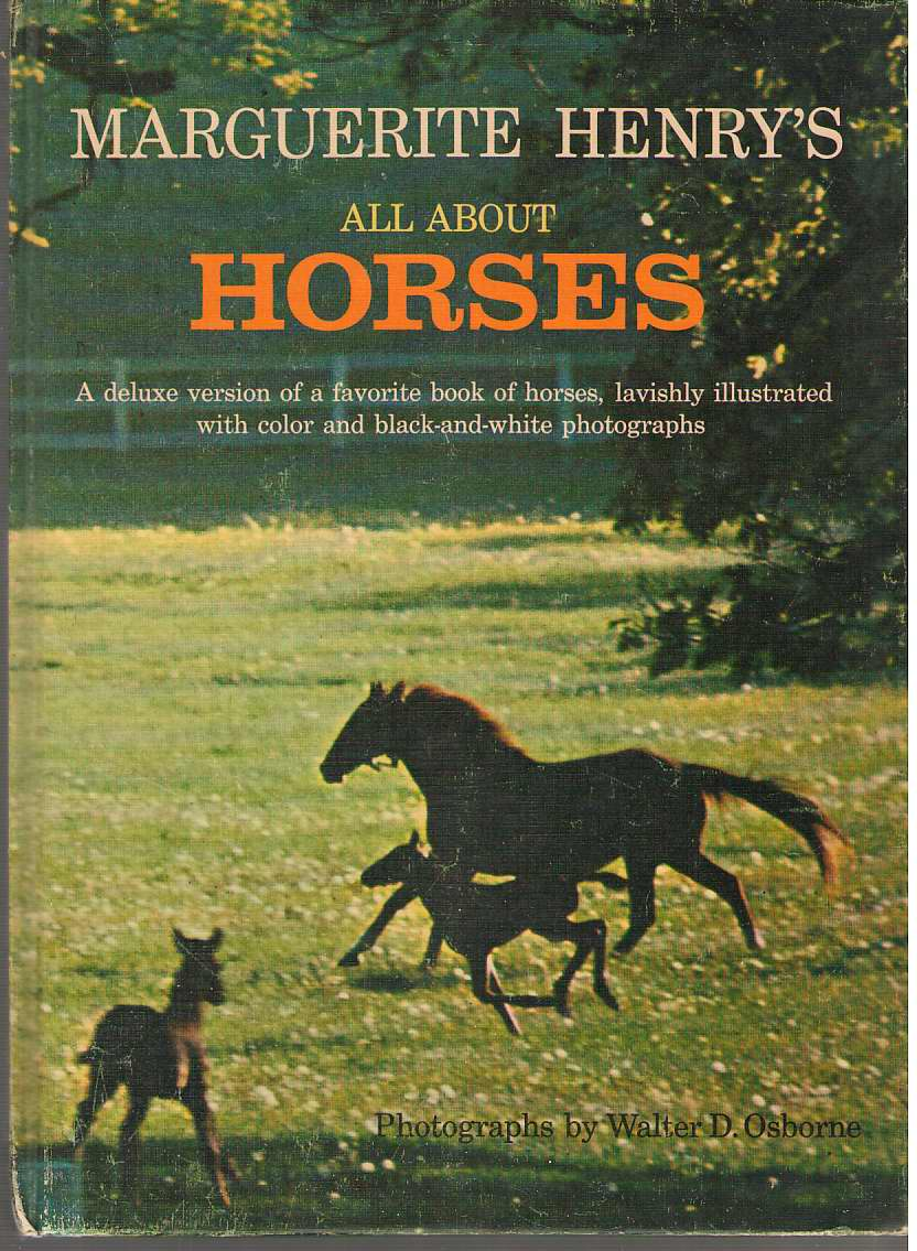 Image for Marguerite Henry's All About Horses