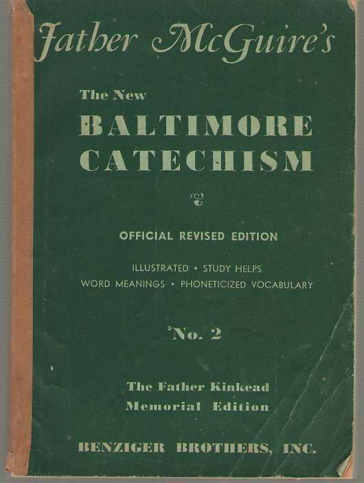 Image for Father Mcguire's The New Baltimore Catechism No. 2 Father Kinkead Memorial Edition