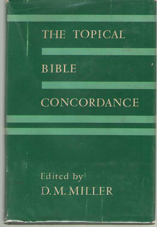Image for The Topical Bible Concordance